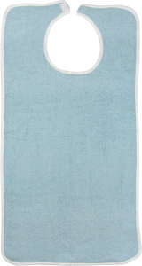 clothing protector blue terry