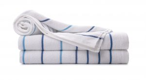 Pool Towels Stack-Blue